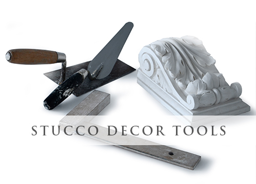 KATALOG - Stucco decor Tools